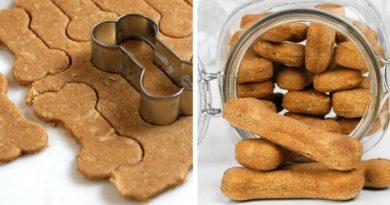 Печенье для собак с говядиной