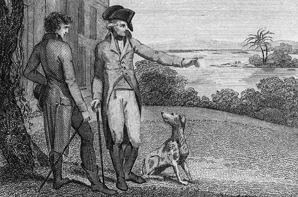 Собака Джоржа Вашингтона