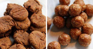 Печенье для собак с печенью