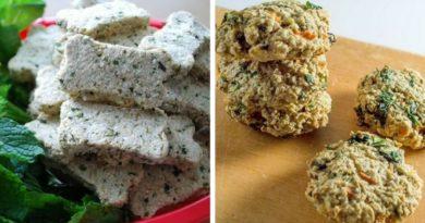 Печенье для собак с рыбой