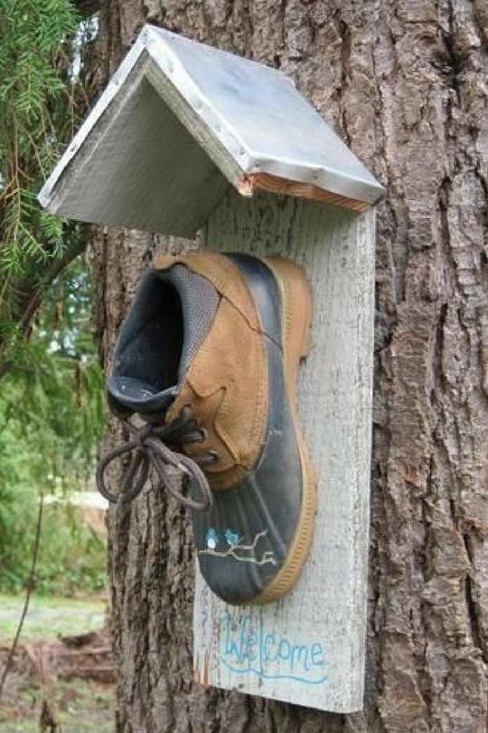 Гнездо для птиц своими руками