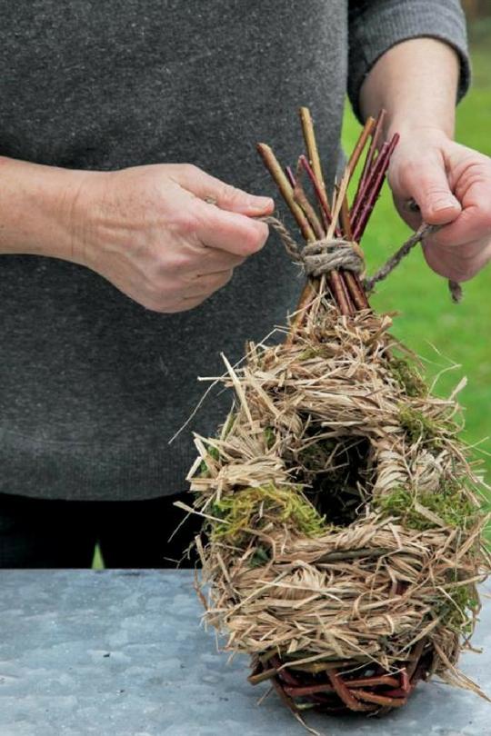 Гнездо для карелов своими руками фото 31