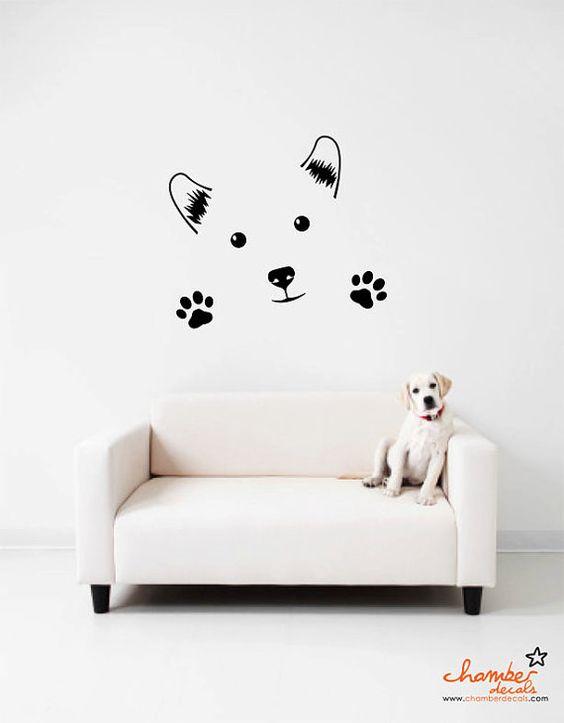 Собака в интерьере