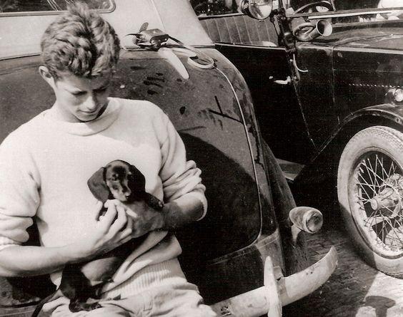 Джон Ф. Кеннеди и собака