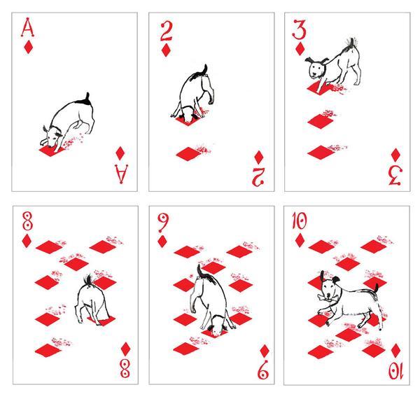Игральные карты с собаками