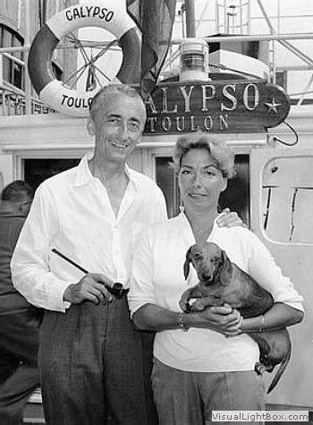 Жан Кусто и собака