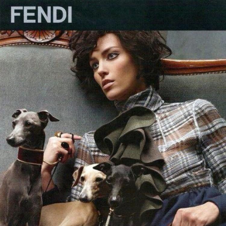 Рекламная кампания Fendi