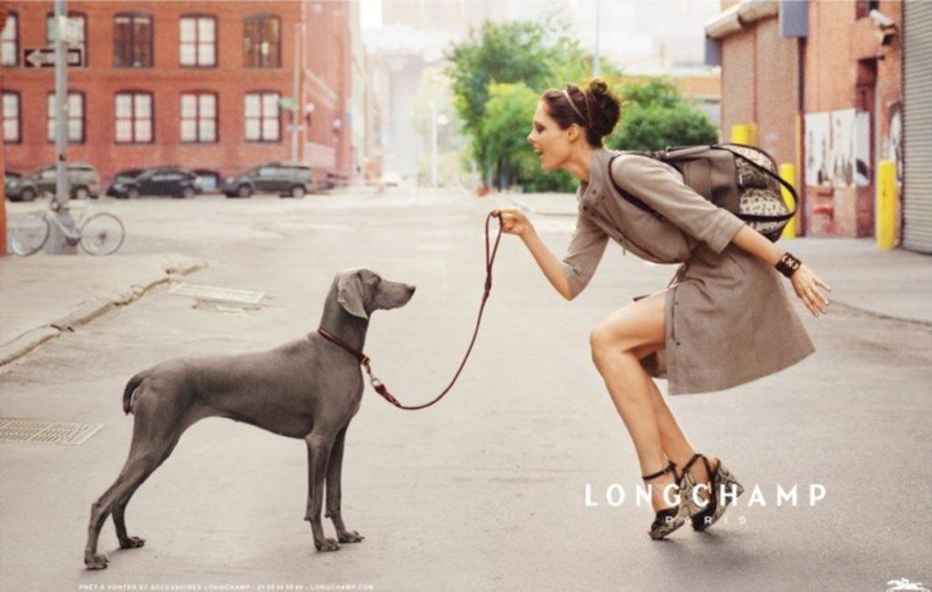 Рекламная кампания Longchamp
