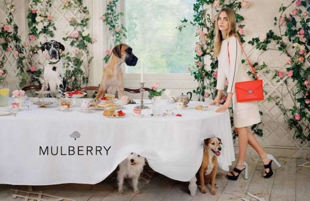 Рекламная кампания Mulberry