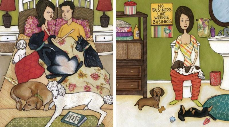 Если вы решили завести Собаку: правда в иллюстрациях
